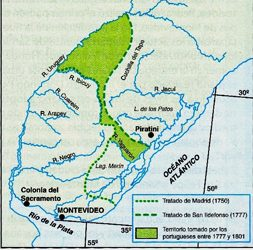 Tratado de límites de Madrid y San Idefonso