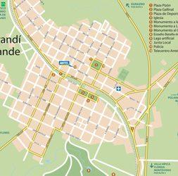 Mapa Sarandí Grande
