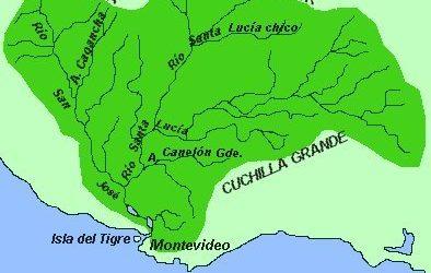 Cuenca del río Santa Lucía