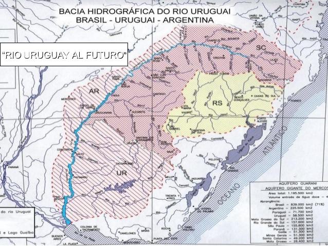 Cuenca hidrográfica del río Uruguay