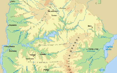 Cuenca hidrográfica y orográfica del Uruguay