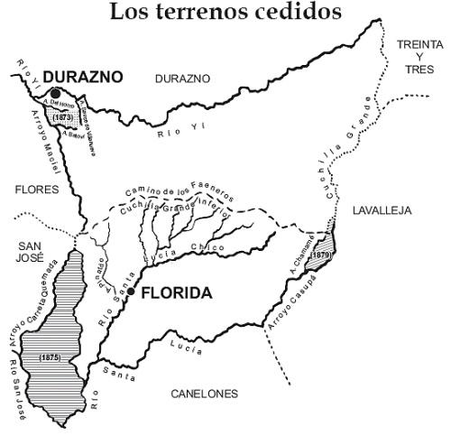 Mapa de Florida (1856).