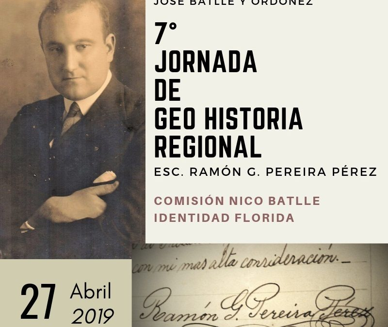 Programa VII Jornada de GeoHistoria Regional